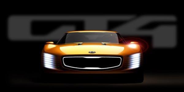 Kia présente son concept GT4 Stinger