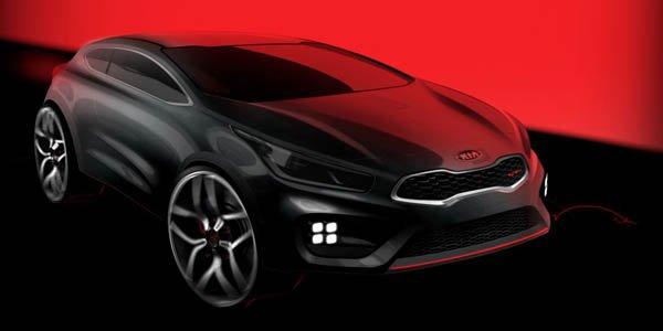 La Kia Pro_Cee'd GT arrive