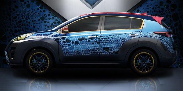 X-Car : Kia croise le Sportage et les X-Men