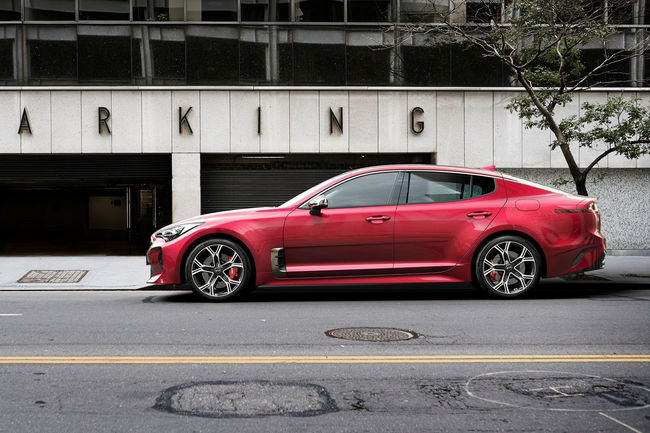 Coupé Kia Stinger GT : testé sur le Ring