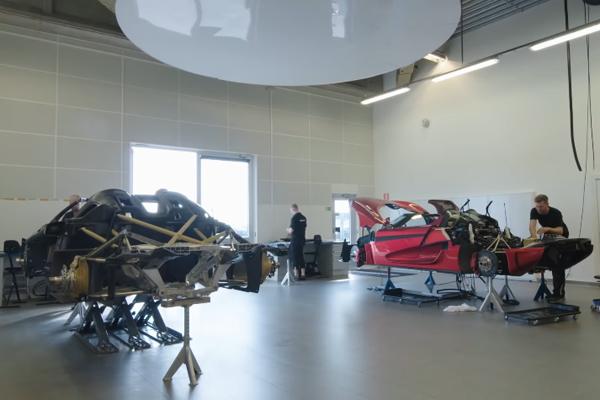 Quand une Hypercar Koenigsegg passe au crash-test