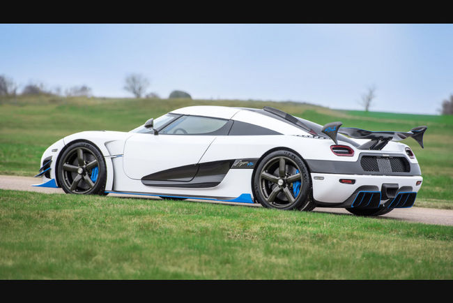 Un one-off Koenigsegg Agera RS1 exposé à New York