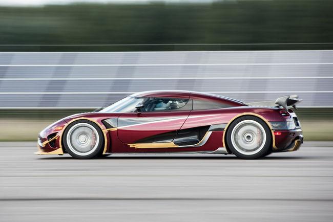 Nouveau record de vitesse pour Koenigsegg