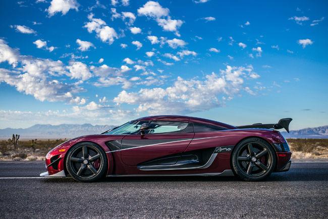 Fin de production pour la Koenigsegg Agera