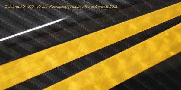 Une mystérieuse Koenigsegg pour Genève