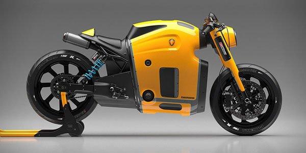 Koenigsegg Motorcycle Concept par Burov Art
