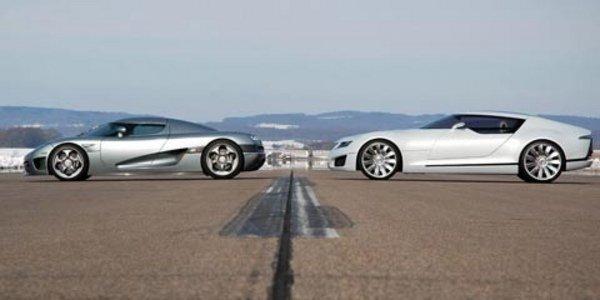 Koenigsegg lâche Saab