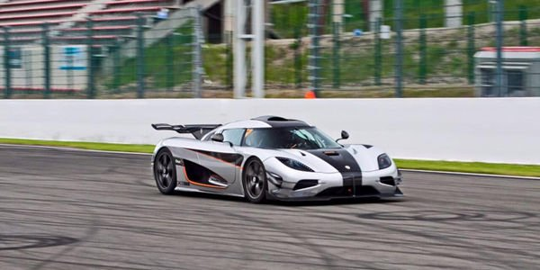 La Koenigsegg One :1 à Spa-Francorchamps