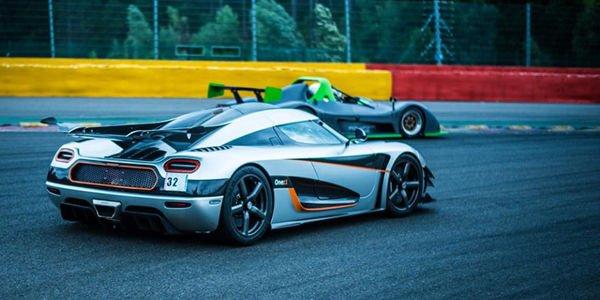 Nouveau record pour la Koenigsegg One :1 à Spa