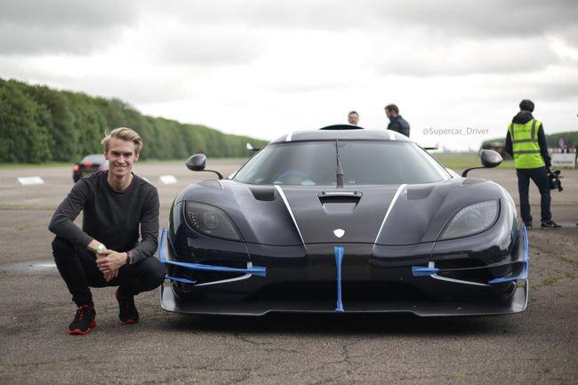 Nouveau record pour la Koenigsegg One :1