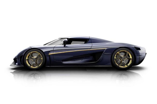 Christian von Koenigsegg configure son hypercar Regera