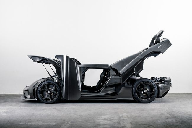 Koenigsegg Regera Naked Carbon : 1ère édition