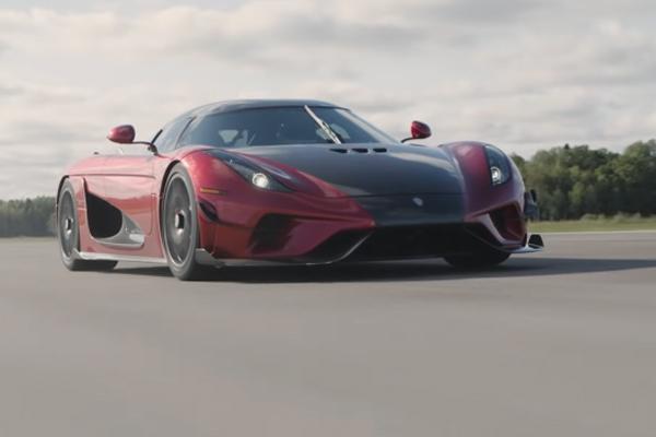Le record de la Koenigsegg Regera en vidéo