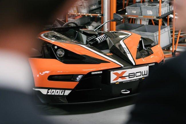KTM offre un restylage à sa X-Bow