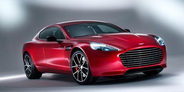 La nouvelle Aston Martin Rapide S arrive