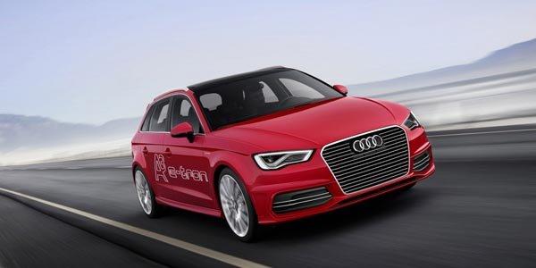 L'Audi A3 e-tron présentée à Genève