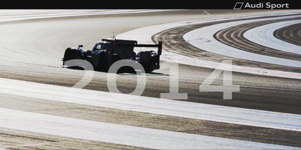 WEC : l'Audi LMP1 2014 dévoilée dimanche