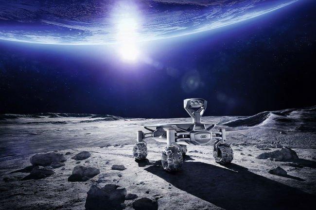L'Audi lunar quattro prêt à rouler sur la lune
