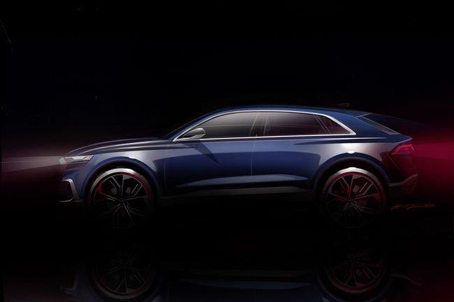 L'Audi Q8 concept présenté à Detroit