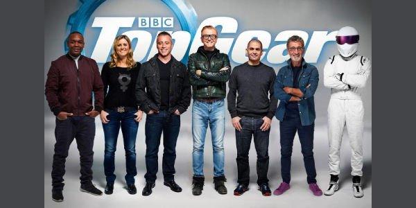 L'équipe de Top Gear au complet