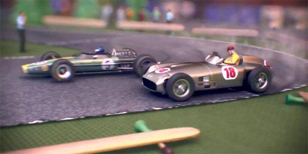 L'évolution des F1 avec des jouets