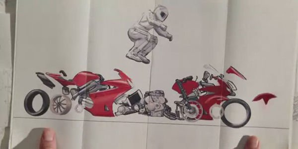 Honda Paper : l'histoire de Honda en dessins animés