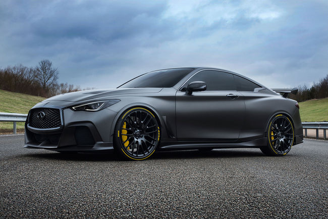 Infiniti : un prototype Project Black S attendu à Paris