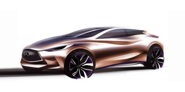 L'Infiniti Q30 Concept à Francfort