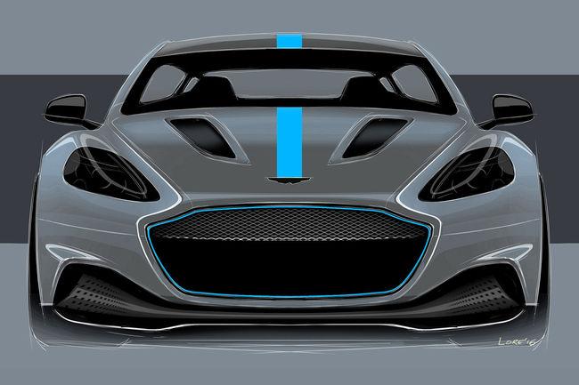 La batterie de l'Aston Martin RapidE dévoilée