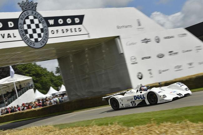 La BMW V12 LMR au Techno Classica Essen