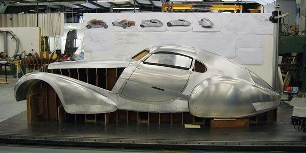La Bugatti Type 64 sera à Monterey