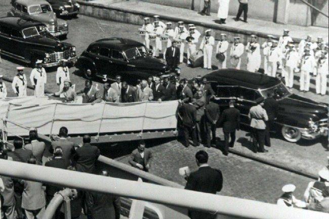 La Cadillac d'Eva Peron aux enchères Bonhams