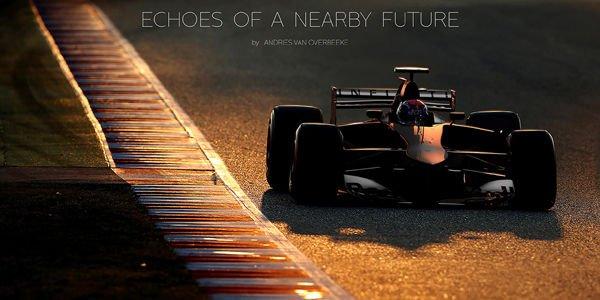 La F1 du futur vue par Andries Van Overbeeke