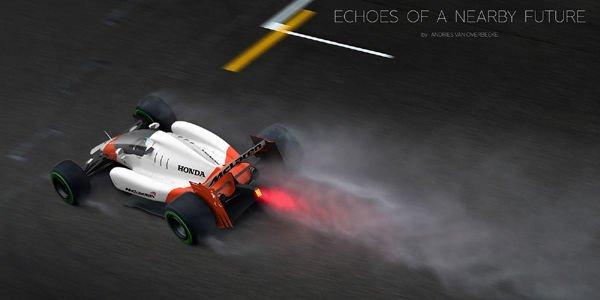 La F1 du futur par Andries Van Overbeeke