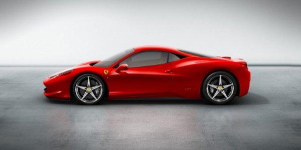La Ferrari F458 remplaçante de la F430