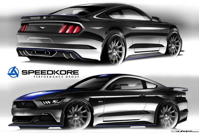 La Ford Mustang bien représentée au SEMA Show