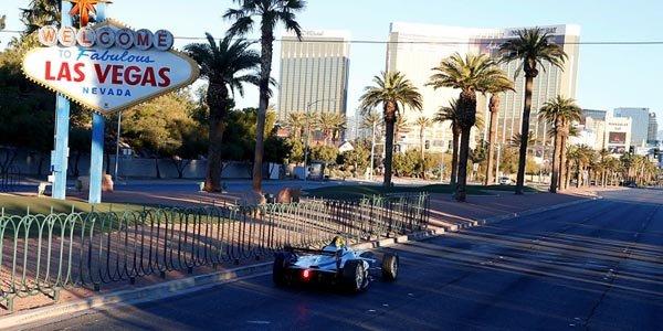 La Formula E fait son show à Las Vegas