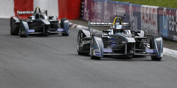 La Formula E en démonstration à Pau