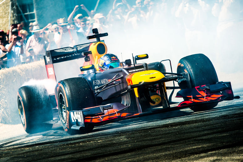 La Formule 1 en force au Goodwood FoS
