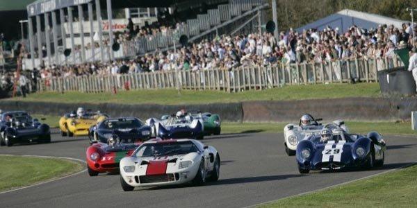Les 50 ans de la GT40 fêtés à Goodwood