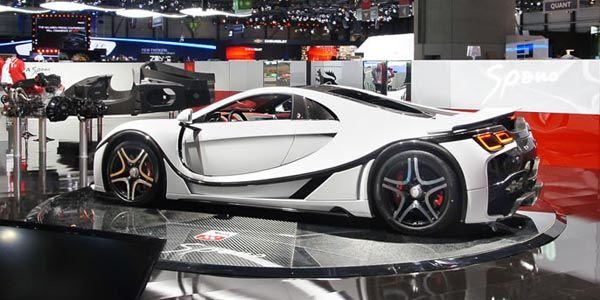La GTA Spano 2015 dévoilée à Genève