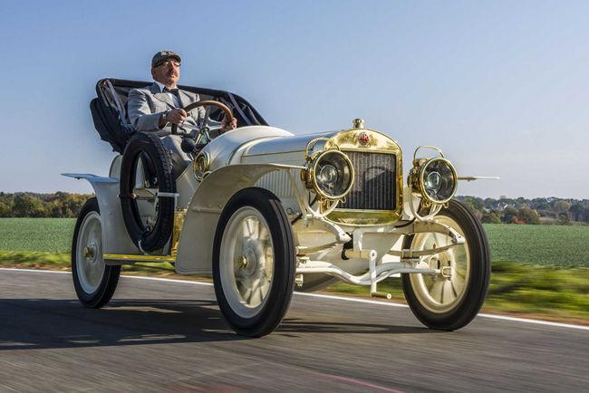 Skoda a restauré la Laurin & Clement BSC de 1908