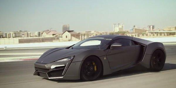 La Lykan Hypersport en vidéo à Dubaï