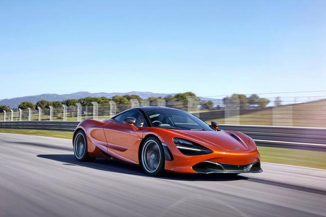 McLaren électrique : pas pour tout de suite