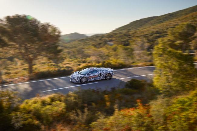 La McLaren Grand Tourer en livrée camouflage