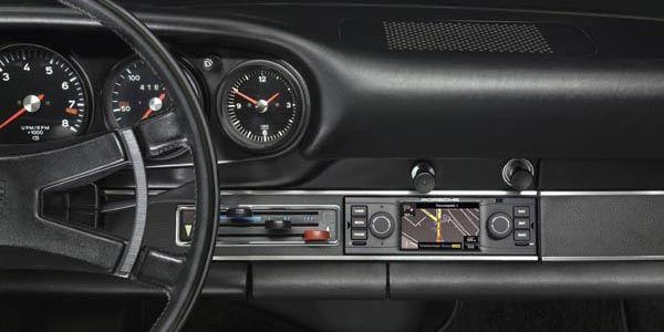 Nouveau système de navigation Porsche Classic