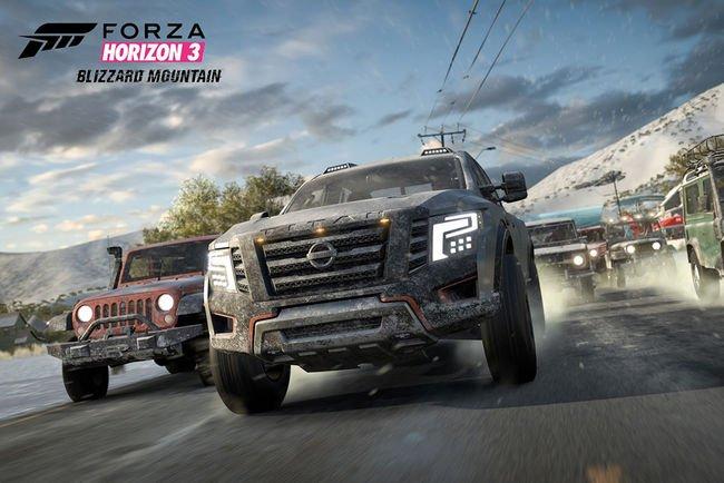 La neige arrive dans Forza Horizon 3