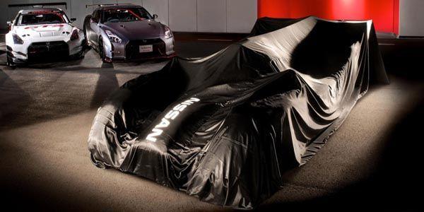 Nissan GT-R LM Nismo LMP1 : premières images