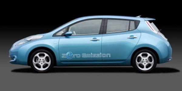 nissan d voile sa voiture electrique actualit automobile motorlegend. Black Bedroom Furniture Sets. Home Design Ideas