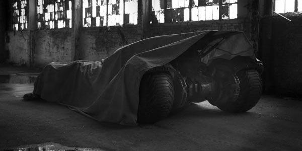 La nouvelle Batmobile prend forme